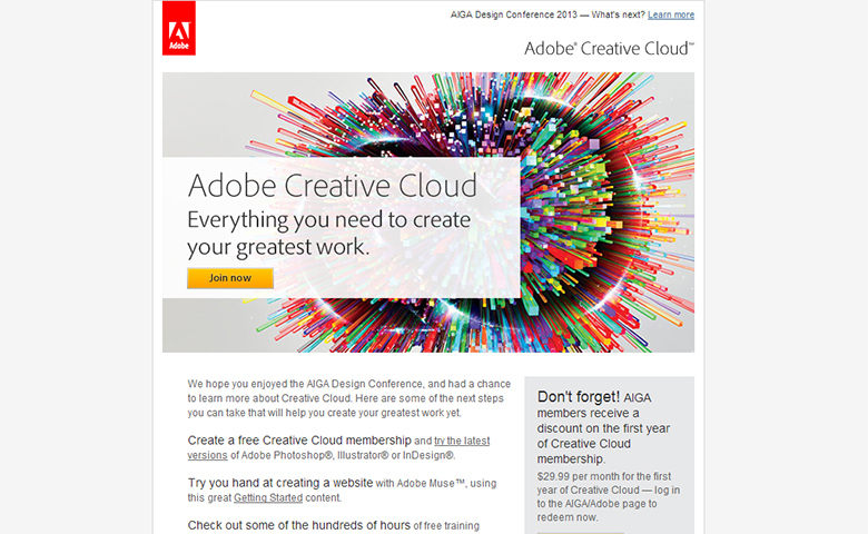 Adobe Email Newsletters